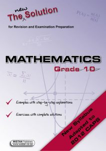 Grade 10 Mathematics Study Guide – Math Study Guide | Grade